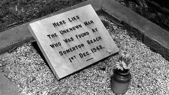 The Unknown Man's Grave in Somerton