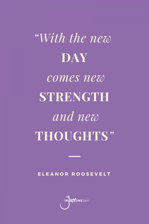 Quotes to Live By Eleanor Roosevelt